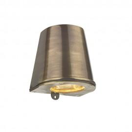DAVID HUNT LIGHTING, Strait antique brass out/indoor light