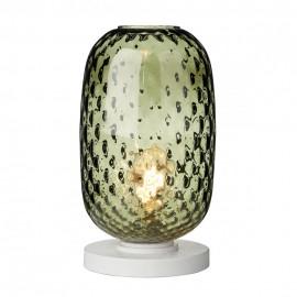 DAVID HUNT LIGHTING, Vidro large green glass t/lamp