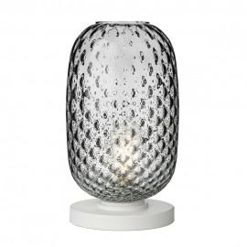 DAVID HUNT LIGHTING, Vidro large smoked glass t/lamp