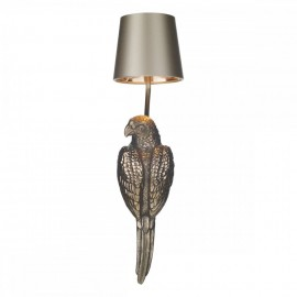 DAVID HUNT LIGHTING, Parrot wall light in bronze