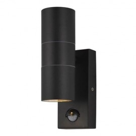 Leto Up/Down Wall Light with PIR