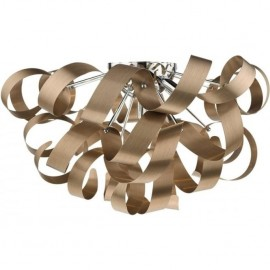 Rawley 5 Light Flush Copper