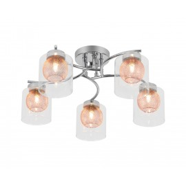 Venus 5 light Flush