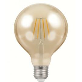 5W antique filament E27 LED glove bulb