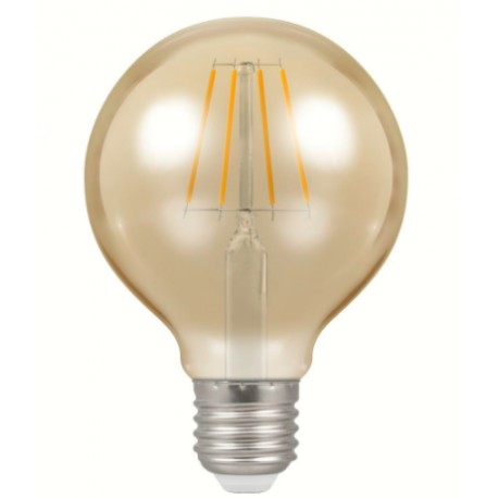 5W antique filament E27 LED globe bulb