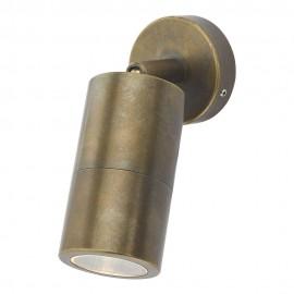 Dar Ortega outdoor wall light Aged brass IP65