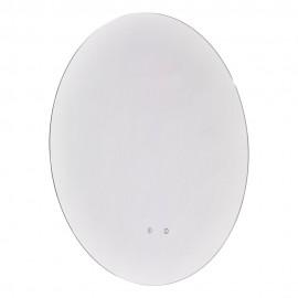 Dar Jiro IP44 circular LED mirror bluetooth speakers