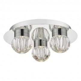 Dar Zondra 3 light ceiling  flush IP44