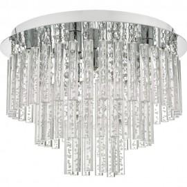 Dar Paulita 5 light ceiling light IP44