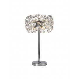 Allium 6 Light Table Lamp Chrome