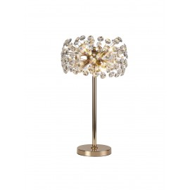 Allium 6 Light Table Lamp French Gold