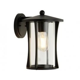 Black outdoor light IP44