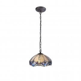 Sapphire hanging tiffany single pendant