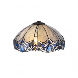 Jewel Tiffany Non Electric pendant shade only