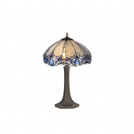 Jewel 1 Light Octagonal Table Lamp