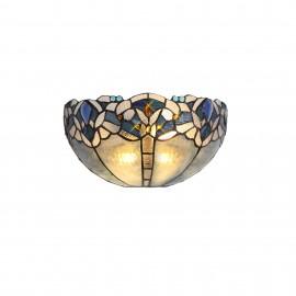 Sapphire Tiffany wall light