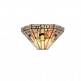 Agate Tiffany 2 Light Wall Light