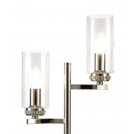 Dana 2 Light Table Lamp Polished Chrome