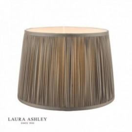 Hemsley Pleated Shade Charcoal 12''