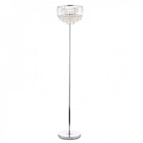 Vienna Polished Chrome Floor Lamp