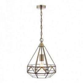 Zaria Antique Brass 1 Light Lantern
